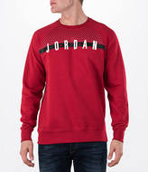 Nike Men's Air Jordan Seasonal Graphic Crew Sweatshirt