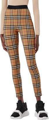 Burberry Belvoir Vintage Check Leggings