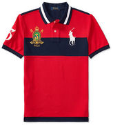 Ralph Lauren Childrenswear Big Pony Cotton Mesh Polo