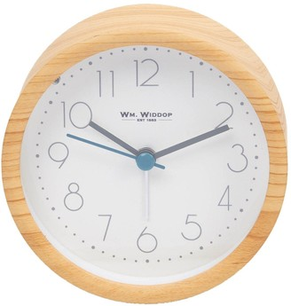 Light Oak Finish Alarm Clock
