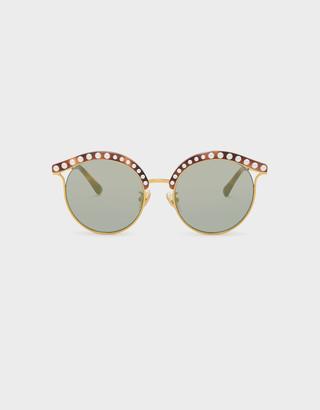 Charles & Keith Embellished Sunglasses