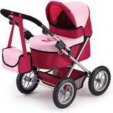 Bayer Trendy Pink/Red Dolls Pram