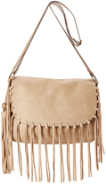 Tan Fringe Crossbody Bag