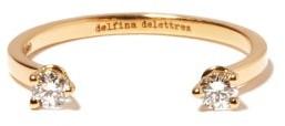 Delfina Delettrez Dots Diamond & 18kt Gold Ring - Yellow Gold