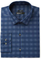 Bar III Men's Slim-Fit Stretch Easy-Care Twill Chambray Dress Shirt, Created for Macy's