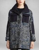 Belstaff Odell Coat Black/Blue