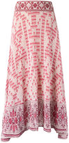 Cecilia Prado knit midi skirt - women - Cotton/Viscose - G