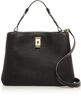 Bally Lucyle Small Pebbled Leather Shoulder Bag