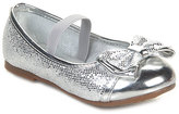 Jelly Beans Silver Bow Lahoya Flat