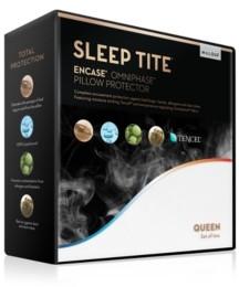 Malouf Sleep Tite Queen Encase Omniphase / Tencel Pillow Protector