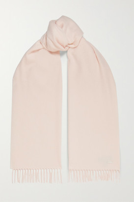 Loro Piana Unita Fringed Cashmere Scarf - Pink