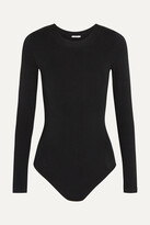 Thumbnail for your product : Wolford Berlin Stretch-jersey Bodysuit - Black