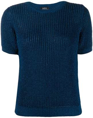 A.P.C. textured knit sweater