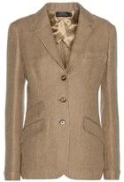 Polo Ralph Lauren Linen And Wool-blend Jacket