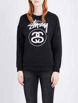 Stussy Stock Link stretch-cotton sweatshirt