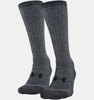 Under Armour Unisex UA Charged Wool Boot Socks - 2-Pack