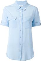 Equipment chest pockets shortsleeved shirt
