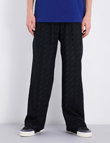 Balenciaga Logo-print relaxed-fit straight cotton trousers