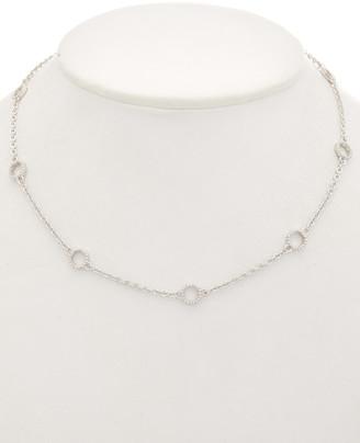 Judith Ripka Casablanca Silver Necklace