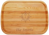 The Well Appointed House Large Personalized Anchor Wheel Cutting Board