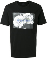 Diesel rose print T-shirt - men - Cotton - XS