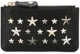 Jimmy Choo Nancy star stud key case - women - Calf Leather - One Size