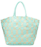 Mud Pie Shimmer Juco Tote
