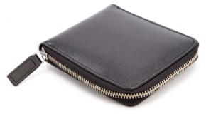Emporium Leather Co Royce Rfid Blocking Zip Around Wallet in Genuine Saffiano Leather