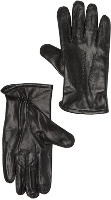 Fownes Bros Wool & Cashmere Blend Lined Leather Gloves