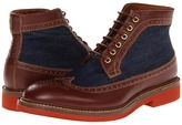 DSquared DSQUARED2 - Tudor Laced Up Ankle Boot (Dark Bordeaux) - Footwear
