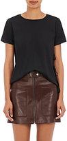 Helmut Lang Women's Luxe Jersey T-Shirt-BLACK