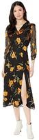 ASTR the Label Joni Dress (Orange Blossom Floral) Women's Dress