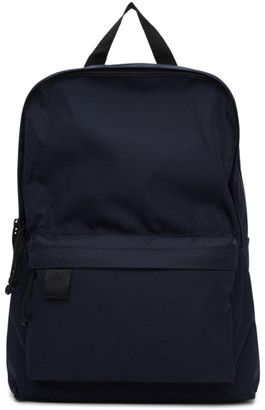 N.Hoolywood Navy Nylon Canvas Backpack