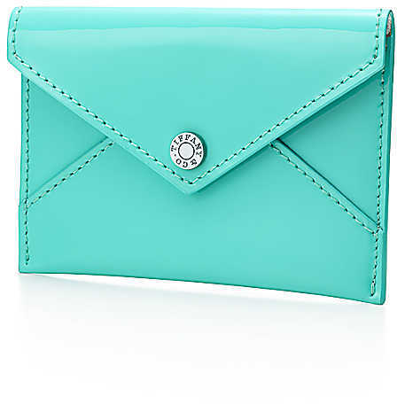 Tiffany & Co. Patent Leather Envelope