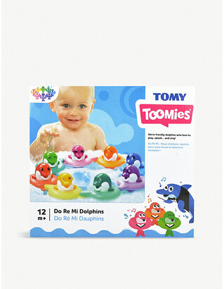 Tomy Toomies Do Re Mi Dolphins bath toy