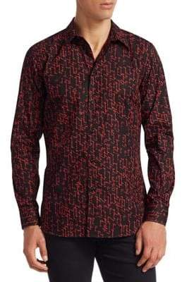Givenchy Print Button-Down Shirt