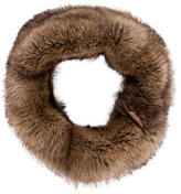 Christian Cota Knit Fur Shawl