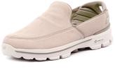 Skechers Men's Go Walk 3 Unwind Stone