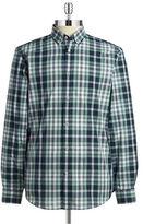 Black Brown 1826 Cotton Plaid Sportshirt