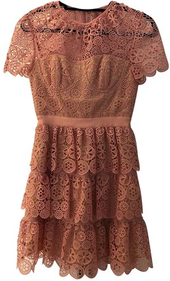 Self-Portrait Pink Lace Dresses