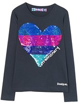 Desigual Girl's TS_VANCOUVER Long Sleeve Top