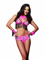 Dreamgirl Women's Ride Em Cowgirl Bra Set