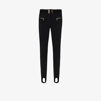 Goldbergh Paris belted stirrup ski trousers