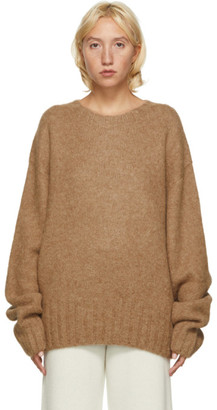 Arch The Brown Alpaca and Wool Sweater