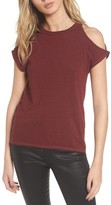 Pam & Gela Women's Cold Shoulder Tee