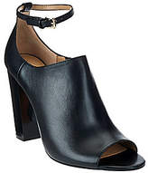 G.I.L.I. got it love it G.I.L.I. Leather Peep Toe Ankle Strap Booties- Preena