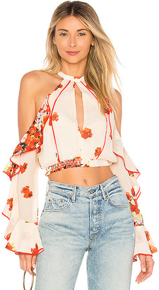 House Of Harlow x REVOLVE Harmony top