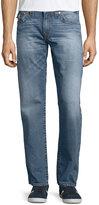 True Religion Straight-Leg Cotton Denim Jeans, Medium Drifter