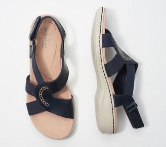 Clarks Collection Backstrap Sandals - Leisa Joy