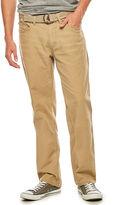 UNIONBAY Union Bay 5-Pocket Straight-Leg Canvas Pants